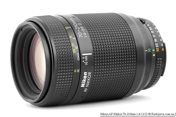 Обзор Nikon AF Nikkor 70-210mm 1:4-5.6D