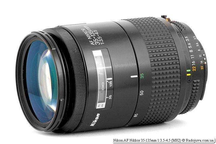 Обзор Nikon AF Nikkor 35-135mm 1:3.5-4.5 (MKI)