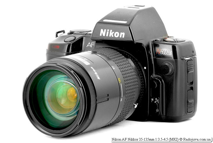 Nikon AF Nikkor 35-135mm 1:3.5-4.5 (MKI) на ЗК