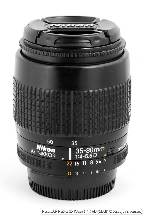 Nikon AF Nikkor 35-80mm 1:4-5.6D (MKII)