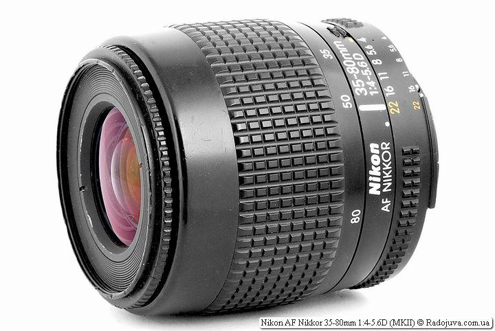 Обзор Nikon AF Nikkor 35-80mm 1:4-5.6D (MKII)