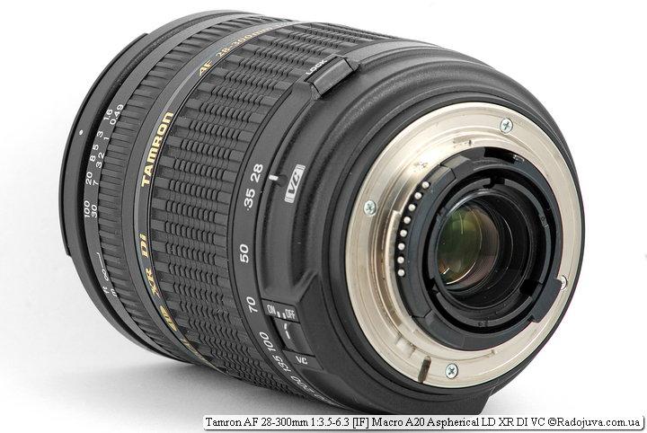 Tamron AF 28-300mm 1:3.5-6.3 [IF] Macro A20 Aspherical LD XR DI VC