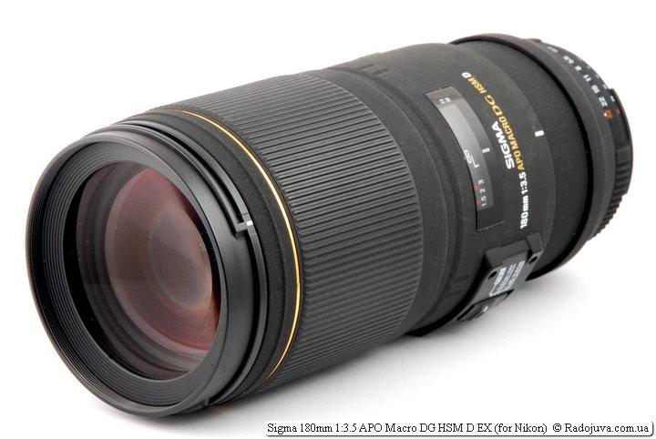 Обзор Sigma 180mm 1:3.5 APO Macro DG HSM D EX