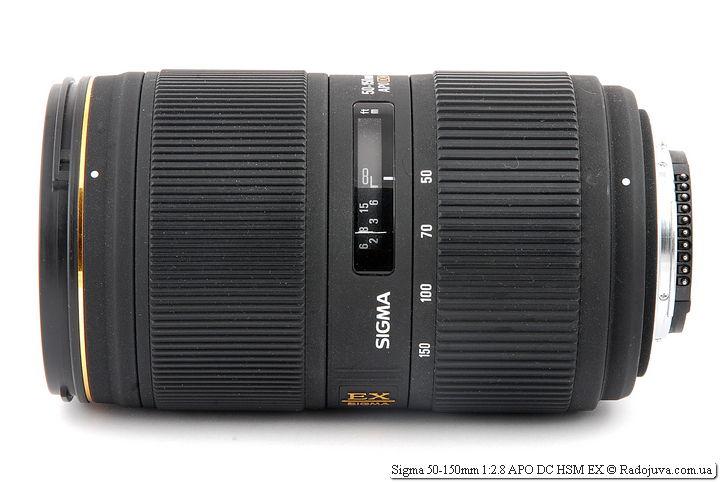 Вид Sigma 50-150mm 1:2.8 APO DC HSM EX