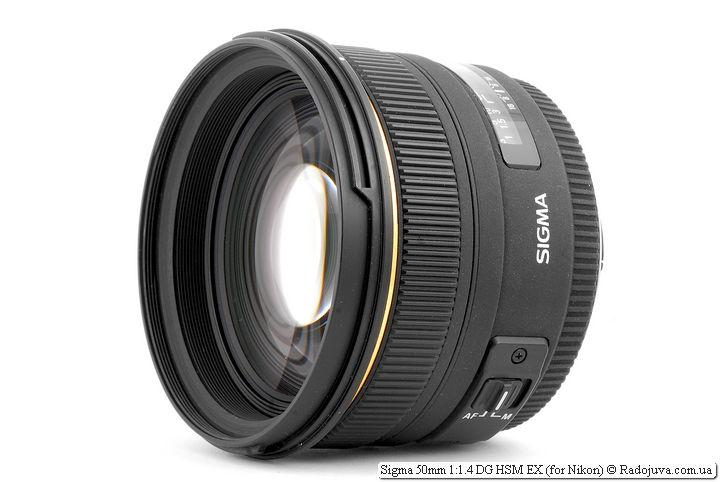 Обзор Sigma 50mm 1:1.4 DG HSM EX