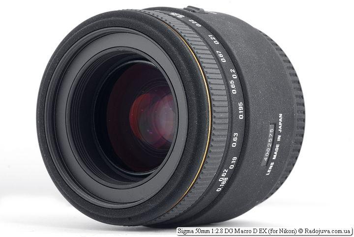 Обзор Sigma 50mm 1:2.8 DG Macro D EX
