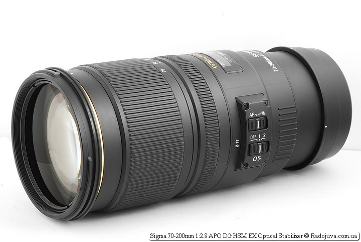 Обзор Sigma 70-200mm 1:2.8 APO DG HSM EX Optical Stabilizer