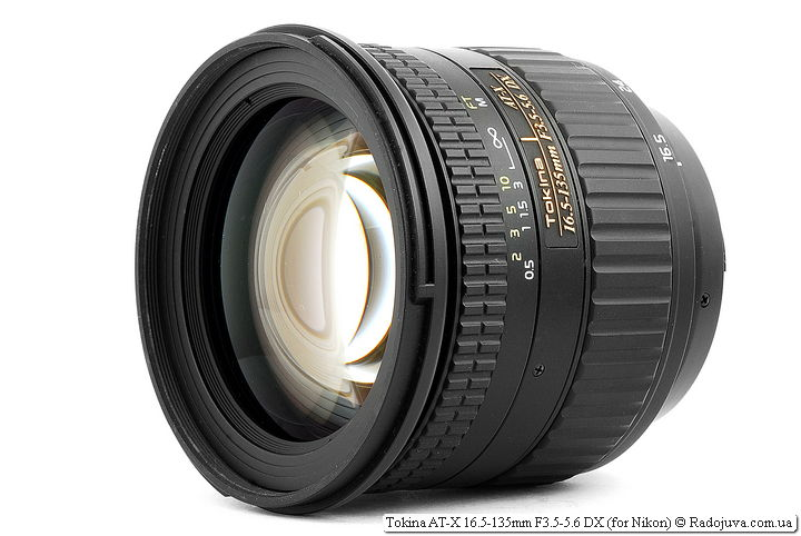 Обзор Tokina AT-X 16.5-135mm F3.5-5.6 DX