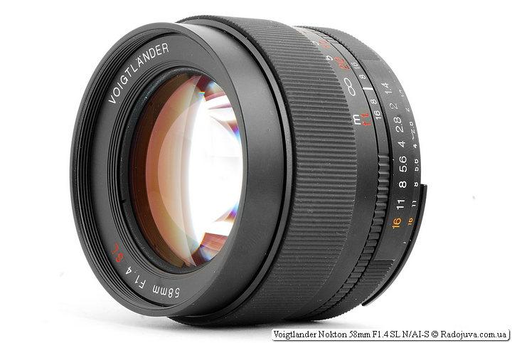 Обзор Voigtlander Nokton 58mm F1.4 SL N/AI-S