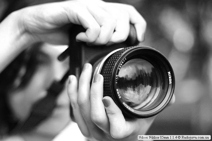 Nikon Nikkor 85mm 1:1.4 при исполнении