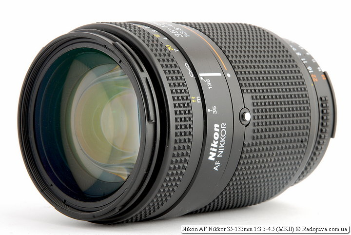 Обзор Nikon AF Nikkor 35-135mm 1:3.5-4.5 (MKII)