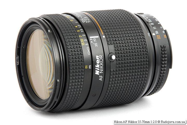 Обзор Nikon AF Nikkor 35-70mm 1:2.8