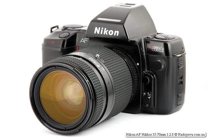 Nikon AF Nikkor 35-70mm 1:2.8 на ЗК