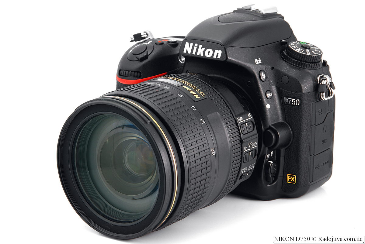 Nikon D750 с объективом Nikon N AF-S Nikkor 24-120mm 1:4G ED VR SWM IF Aspherical Nano Crystal Coat