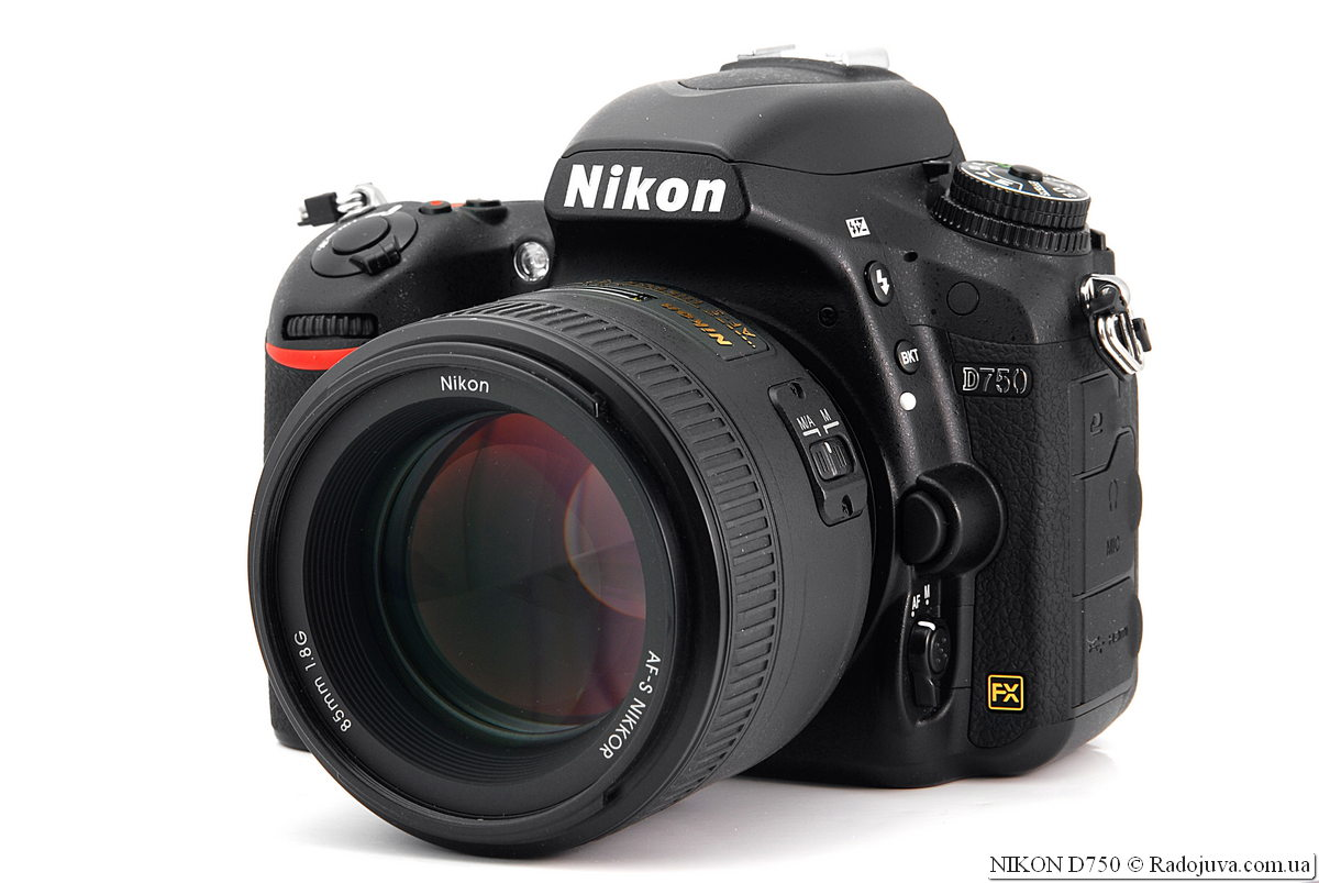 Nikon D750 with Nikon AF-S Nikkor 85mm 1: 1.8G IF SWM