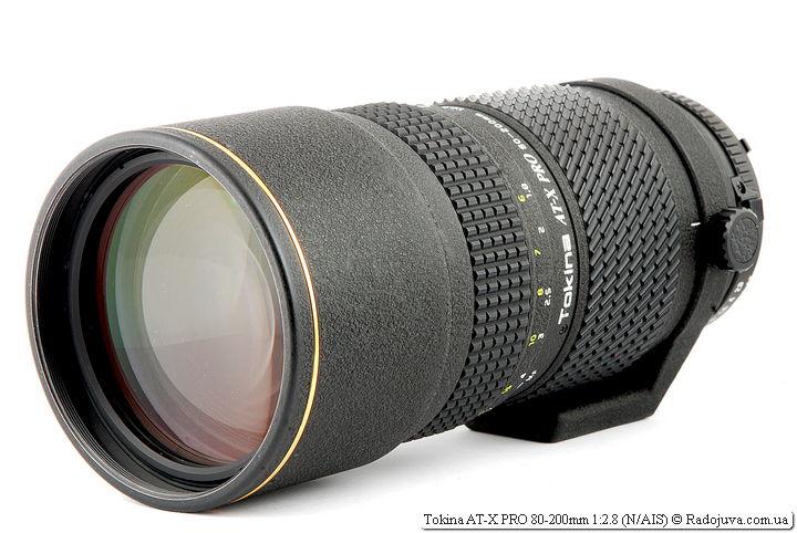 Обзор Tokina AT-X PRO 80-200mm 1:2.8