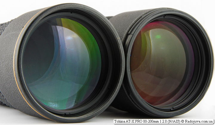 Tokina AT-X PRO 80-200mm 1:2.8 и Nikon ED AF Nikkor 80-200mm 1:2.8D (MKII)