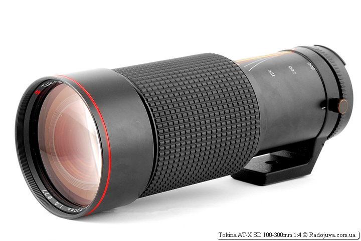 Обзор Tokina AT-X SD 100-300mm 1:4