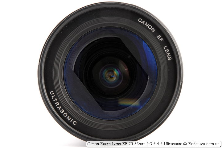 Canon Zoom Lens EF 20-35mm 1:3.5-4.5 Ultrasonic