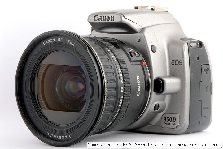 Canon Zoom Lens EF 20-35mm 1:3.5-4.5 Ultrasonic