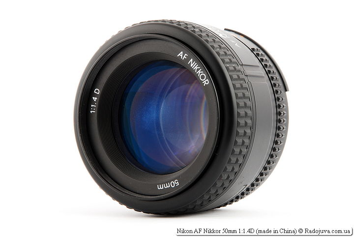 Обзор Nikon AF Nikkor 50mm 1:1.4D (made in China)