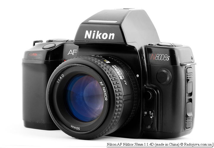 Nikon AF Nikkor 50mm 1:1.4D (made in China)