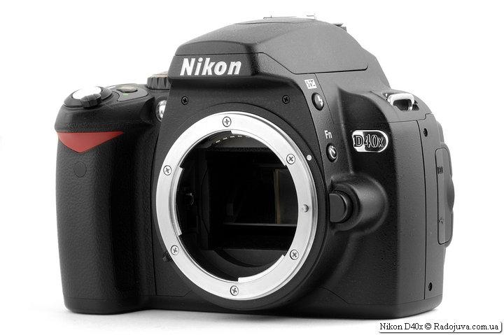 Обзор Nikon D40x