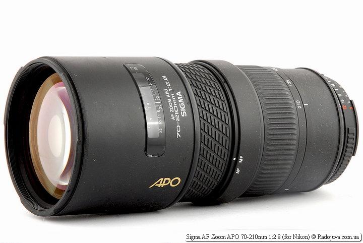 Обзор Sigma AF Zoom APO 70-210mm 1:2.8