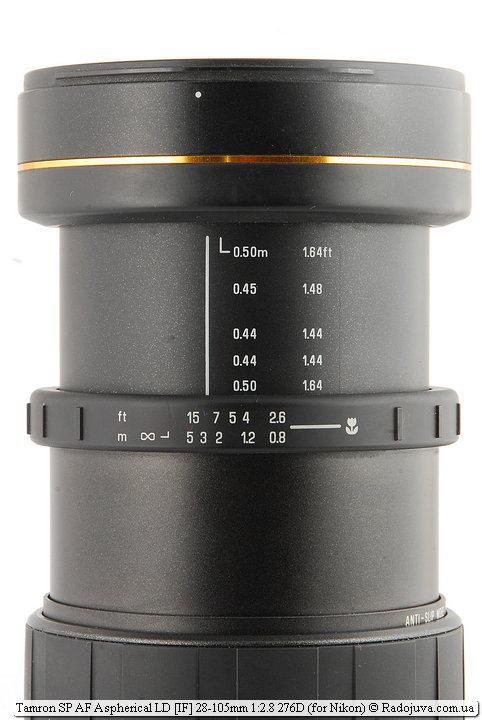Метки Tamron SP AF Aspherical LD [IF] 28-105mm 1:2.8 276D