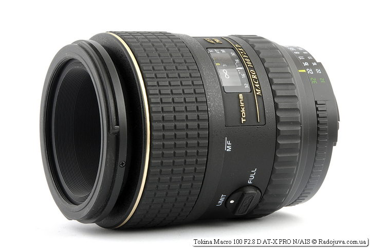 Обзор Tokina Macro 100 F2.8 D AT-X PRO N/AIS