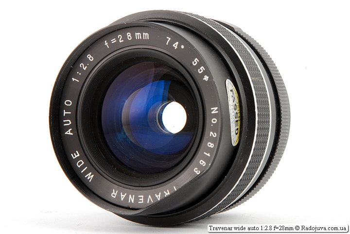 Обзор Travenar wide auto 1:2.8 f=28mm