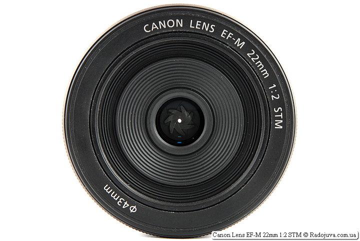Canon Lens EF-M 22mm 1:2 STM