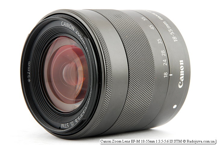 Canon Zoom Lens EF-M 18-55mm 1:3.5-5.6 IS STM