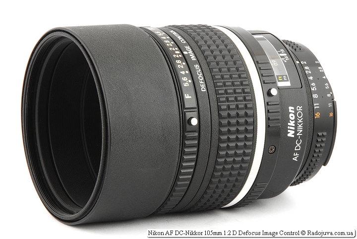 Обзор Nikon AF DC-Nikkor 105mm 1:2 D Defocus Image Control