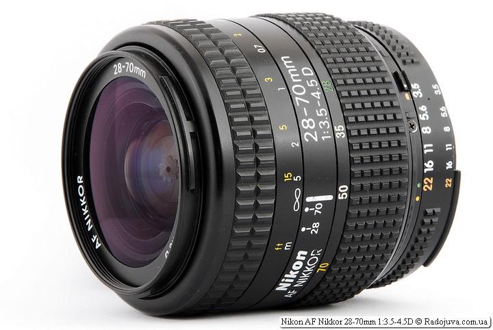 Обзор Nikon AF Nikkor 28-70mm 1:3.5-4.5D