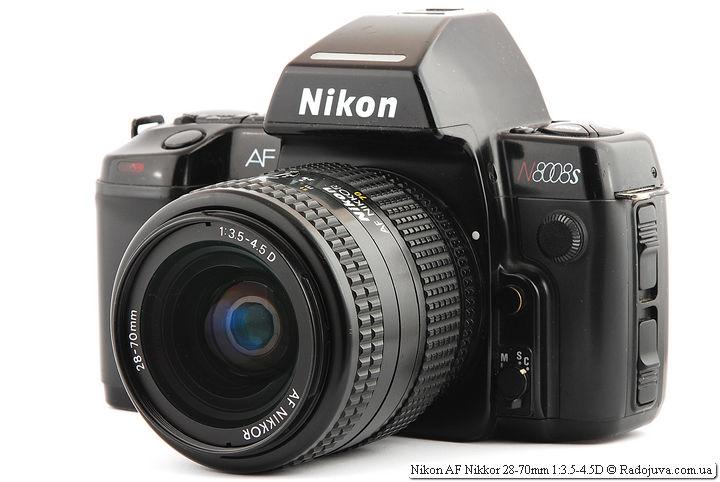 Nikon AF Nikkor 28-70mm 1:3.5-4.5D на ЗК