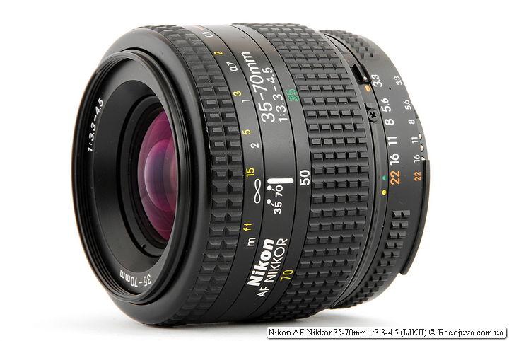 Обзор Nikon AF Nikkor 35-70mm 1:3.3-4.5 (MKII)