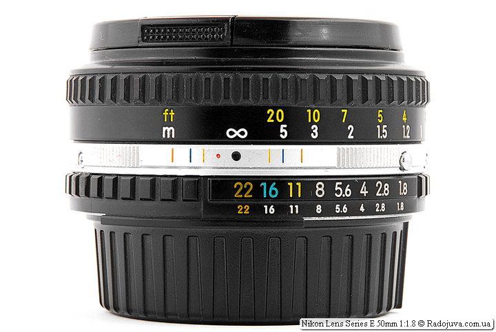 Nikon Lens Series E 50mm 1:1.8 (MKII)