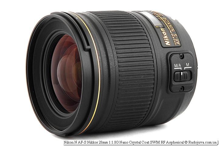 Nikon N AF-S Nikkor 28mm 1: 1.8G Nano Crystal Coat SWM RF Aspherical Review