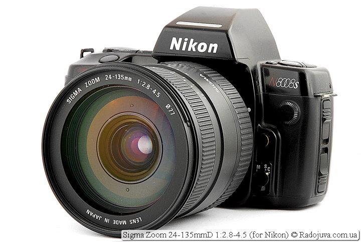 Sigma Zoom 24-135mmD 1:2.8-4.5 на ЗК