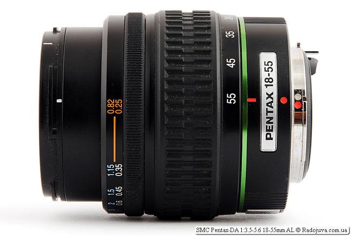 SMC Pentax-DA 1:3.5-5.6 18-55mm AL