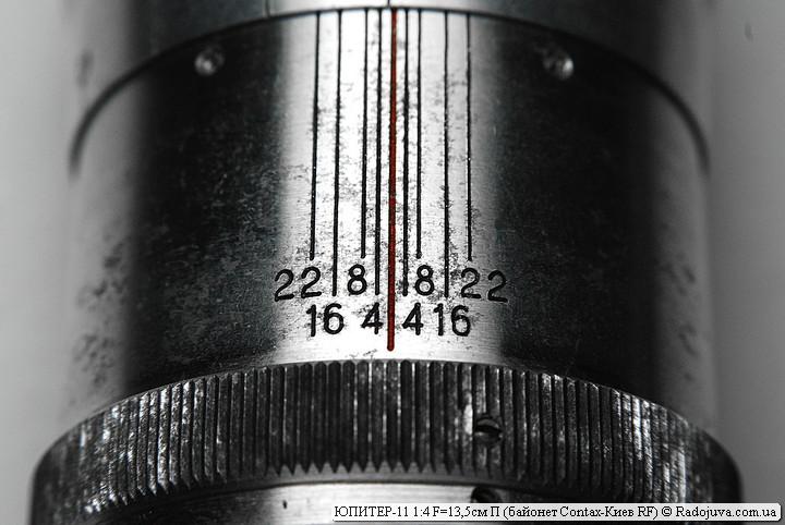 ЮПИТЕР-11 1:4 F=13,5см П с байонетом Contax-Киев RF