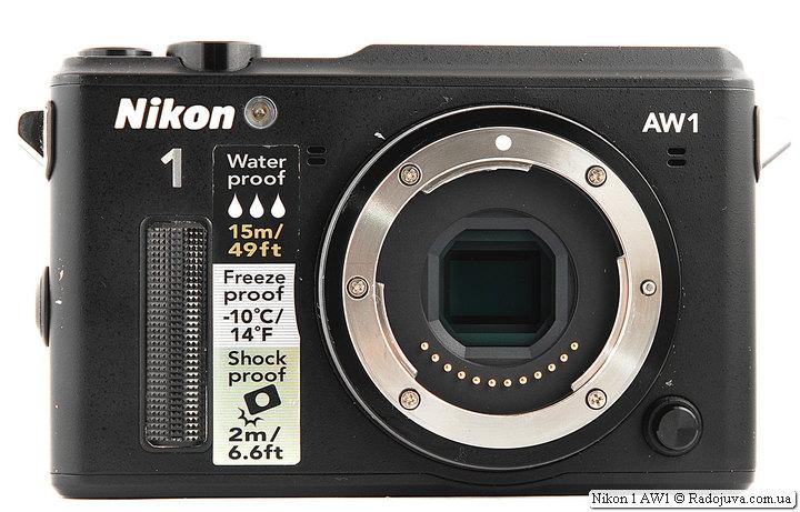 Обзор Nikon 1 AW1
