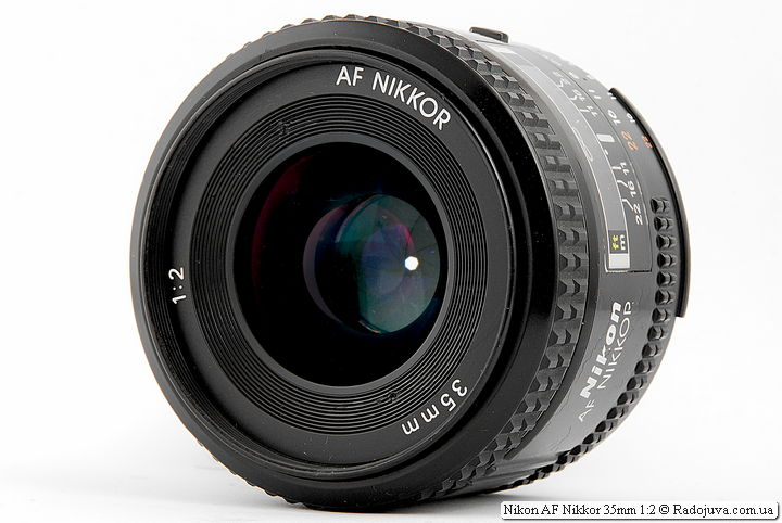 Обзор Nikon AF Nikkor 35mm 1:2 (MKI)