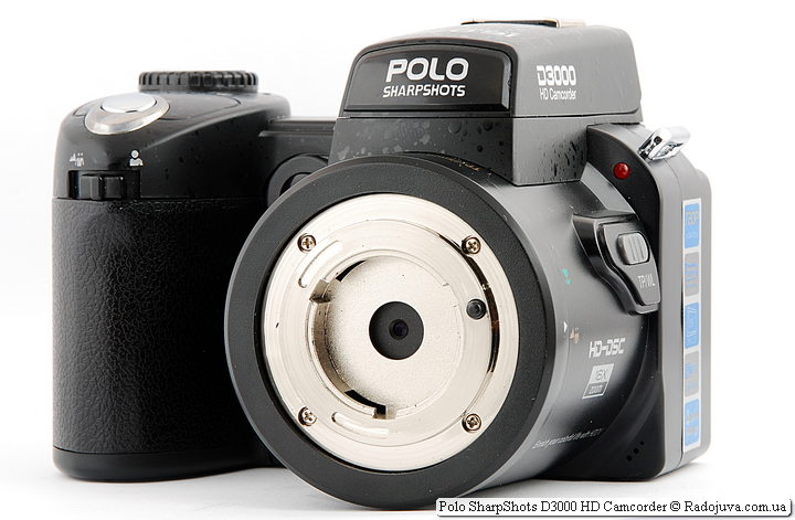 Polo SharpShots D3000 HD Camcorder