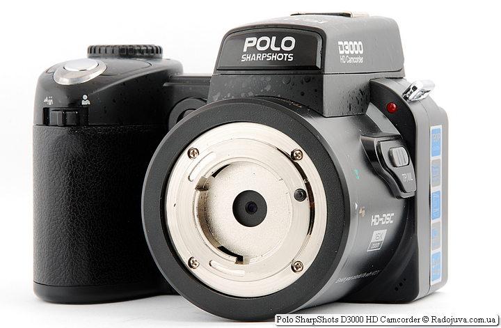 Polo SharpShots D3000 HD Camcorder