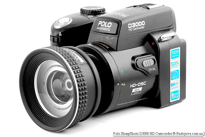 Обзор Polo SharpShots D3000 HD Camcorder
