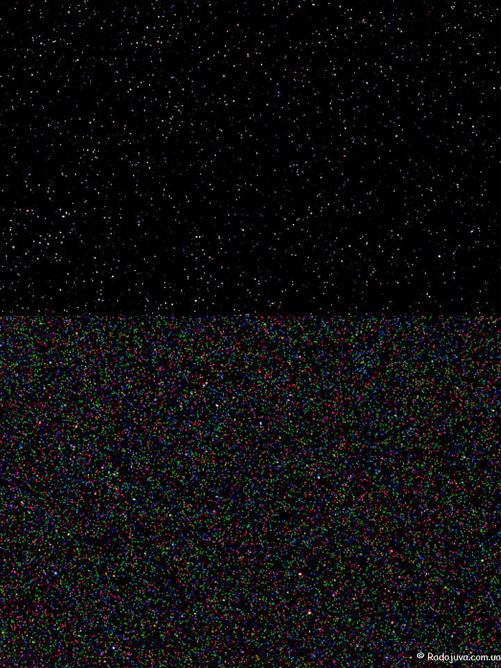 Две части одного и того же снимка с ремапингом и без. Автоматический ремапинг с помощью Adobe Camera Raw