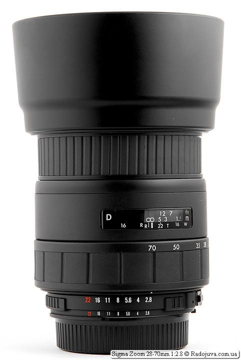 Sigma Zoom 28-70mm 1:2.8 с блендой