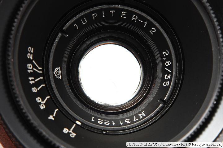 JUPITER-12 2,8/35 с байонетом Contax-Киев RF